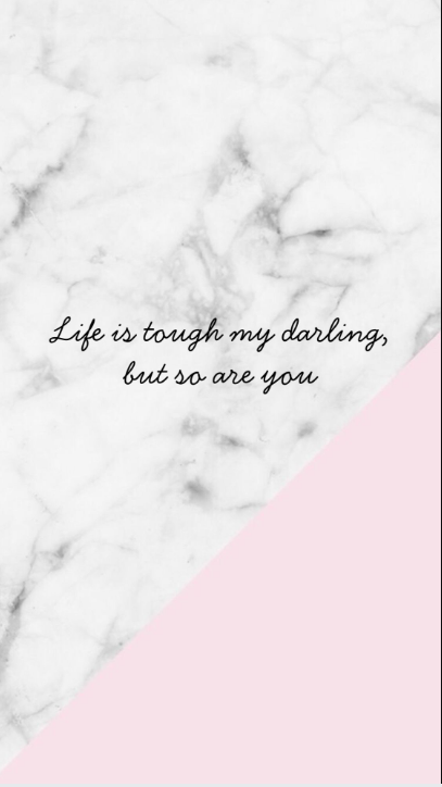 Marble Pink Quote Wallpaper Quotes Pink Quotes Phone Wallpaper