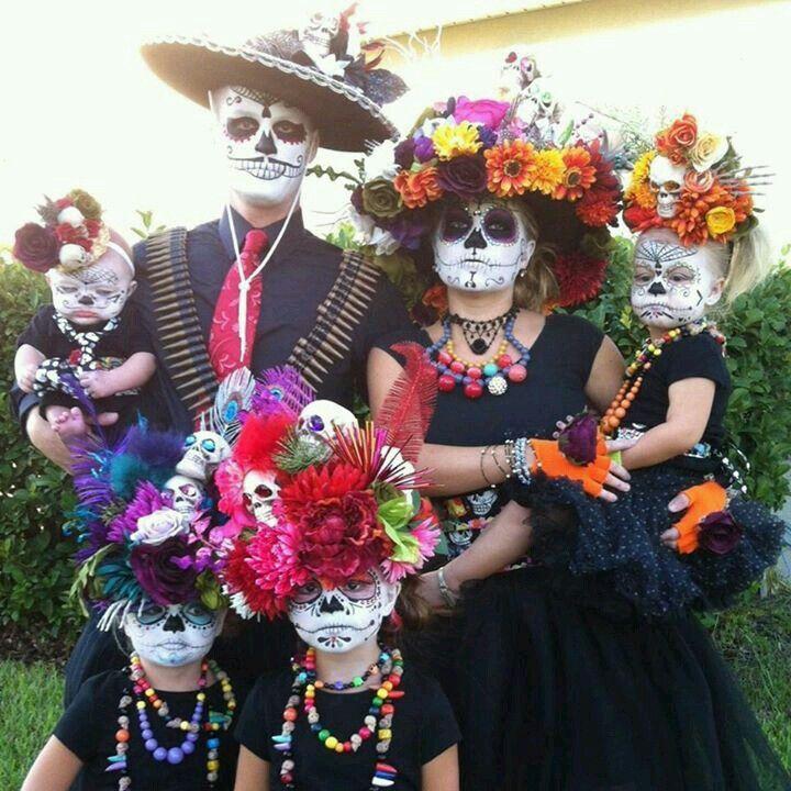 Day of the Dead idea Family halloween, Halloween, Diy