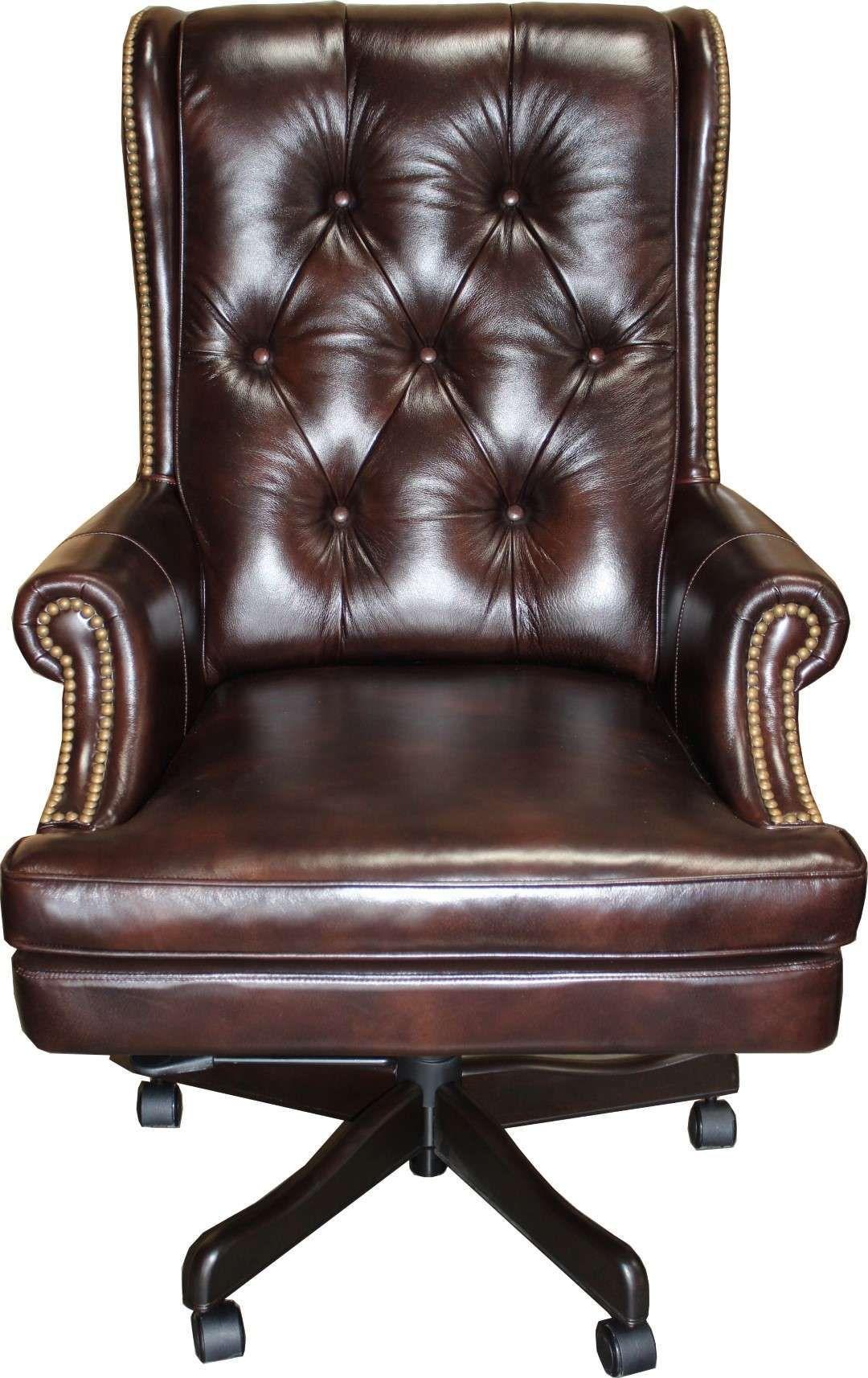 Lowest Price On Parker Living Prestige Havana Leather Desk Chair