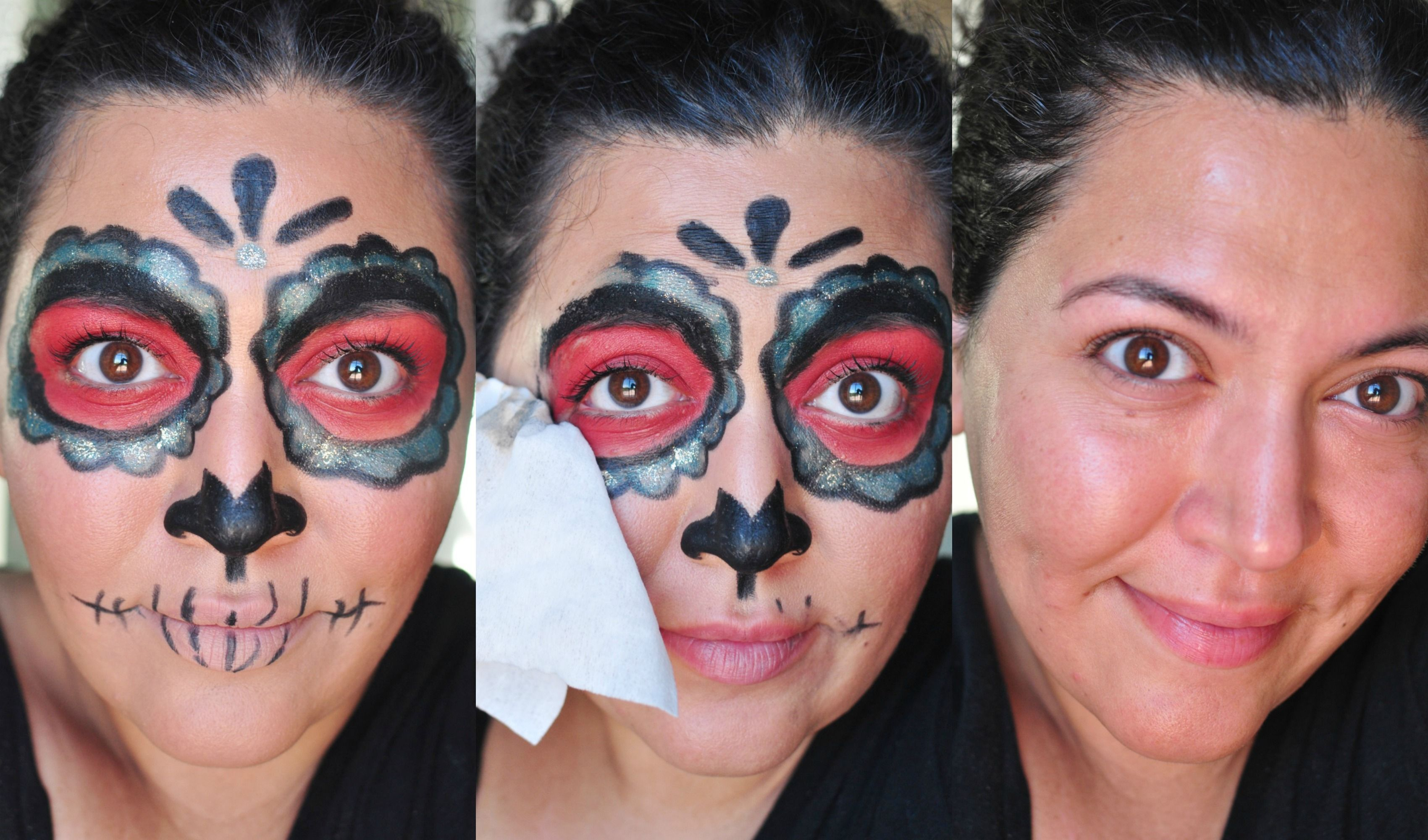 Easy Dia De Los Muertos Makeup Inspiration Makeup