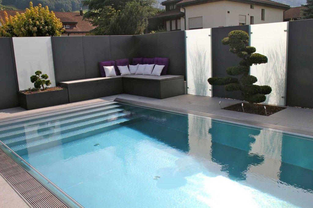 Niropool Pool Pinterest - gartengestaltung reihenhaus pool