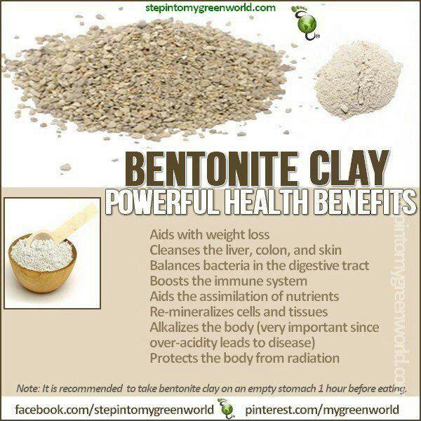 Bentonite clay benefits | Natural Remedies | Bentonite clay