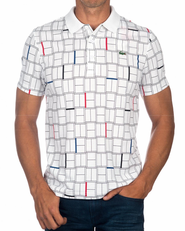 1dea56e00 Polos LACOSTE ® Novak Djokovic ✶ Blanco