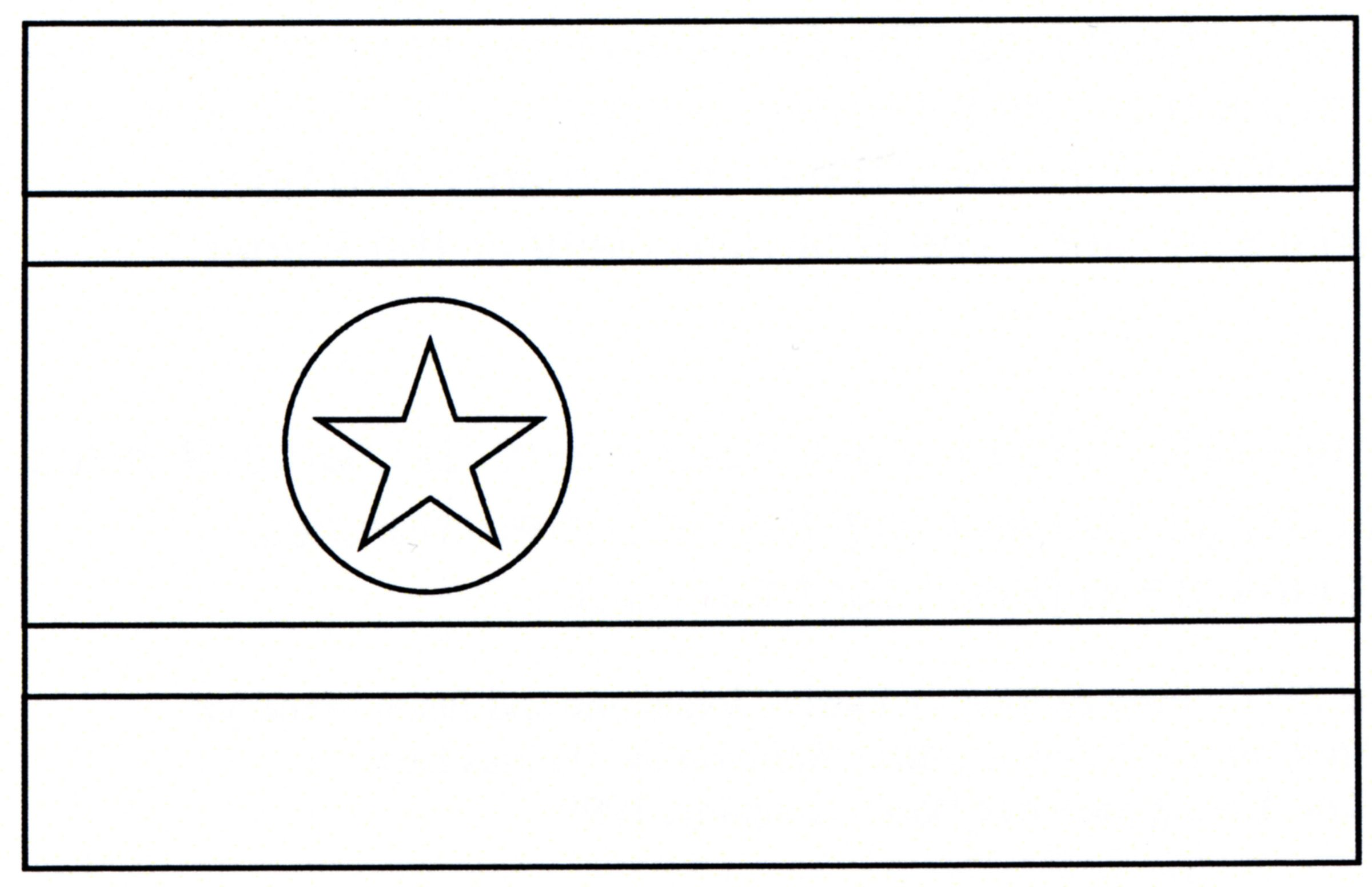 Flags Of Countries Coloring Pages
