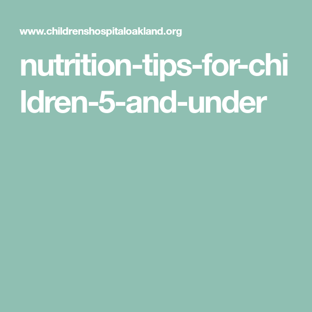 Nutrition-tips-for-children-5-and-under