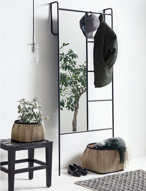 Garderobe Metall Von Nordal Garderobe Metall Spiegel Garderobe