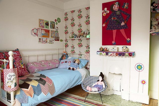 eclectic kiddo room