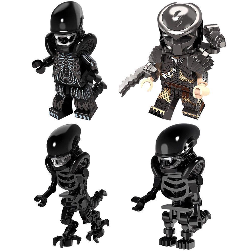 Exclusive AVP Predator Custom lego soldier Minifigures ...