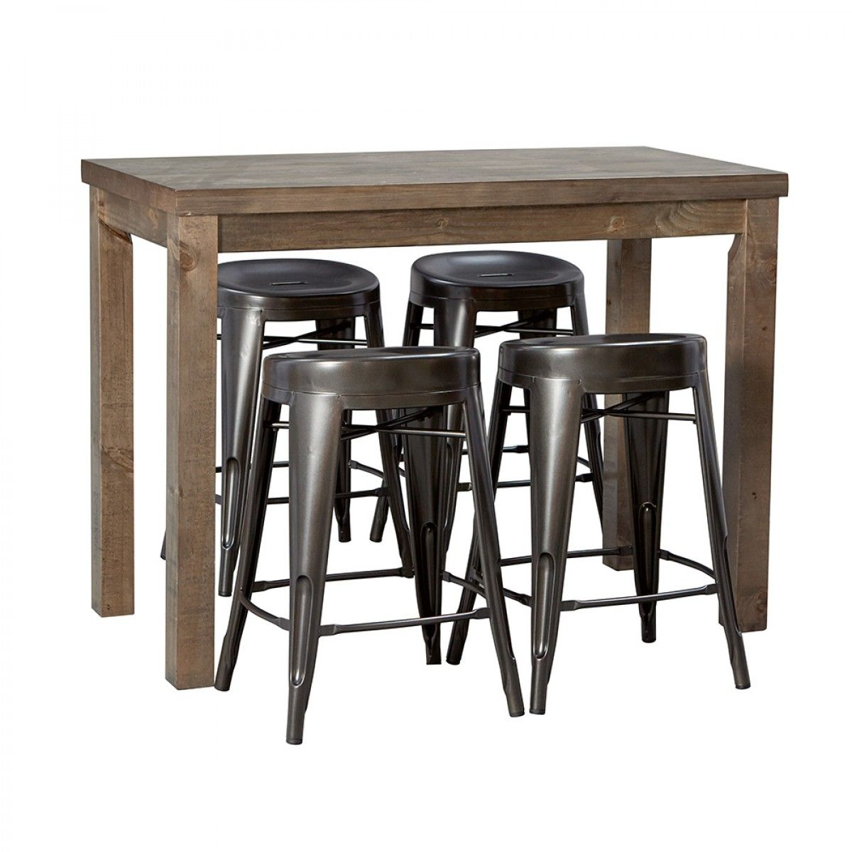 Magnificent Trentham 1200 Bar Table And 4 Fenton Charcoal Bar Stools Gamerscity Chair Design For Home Gamerscityorg