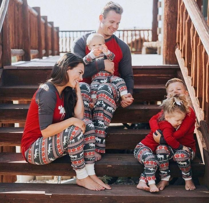 Moose Fair Maple - Lazy One Family Matching Christmas Pj's ...