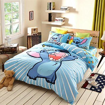 Sisbay Lilo And Stitch Bedding Full Size Boys Girls
