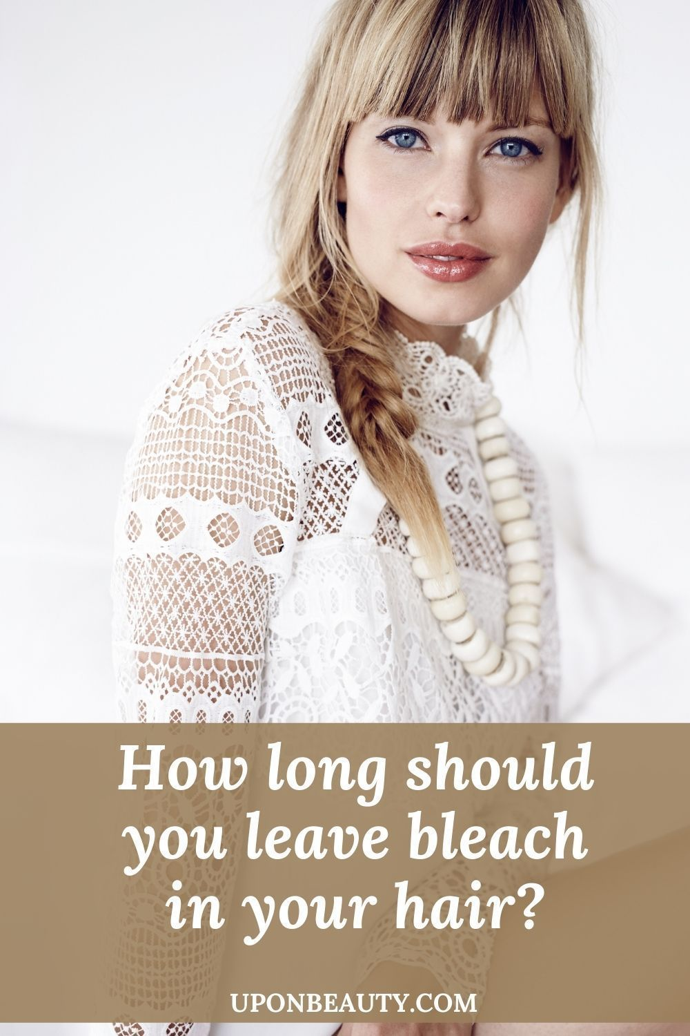 How Long Should You Leave Bleach In Your Hair Up On Beauty Bleached Hair Your Hair Bleaching Your Hair