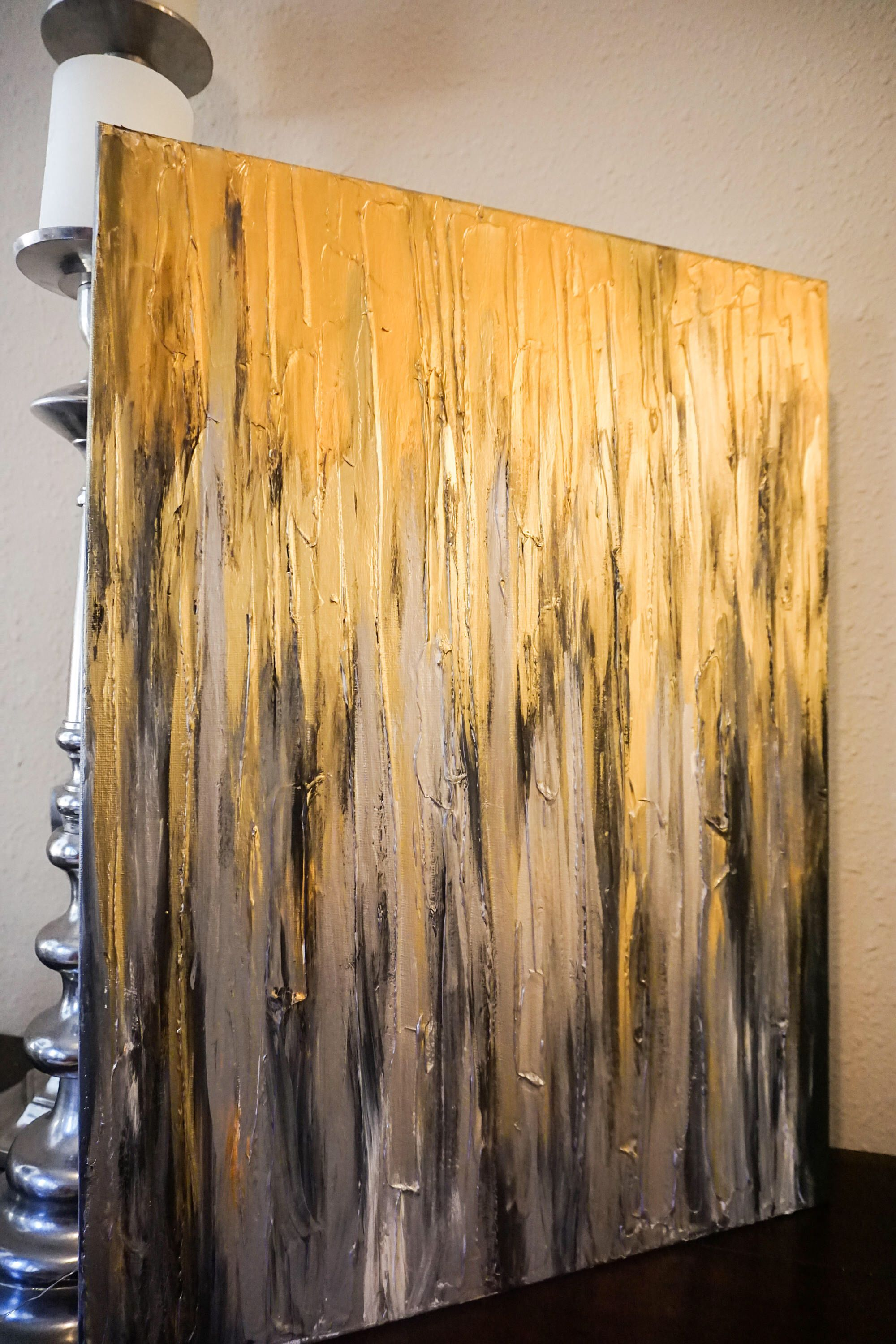 Textured abstract painting art on x canvas contemporary