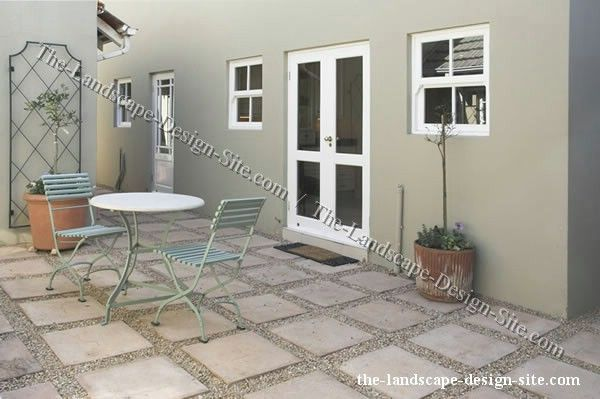 Easy patio idea