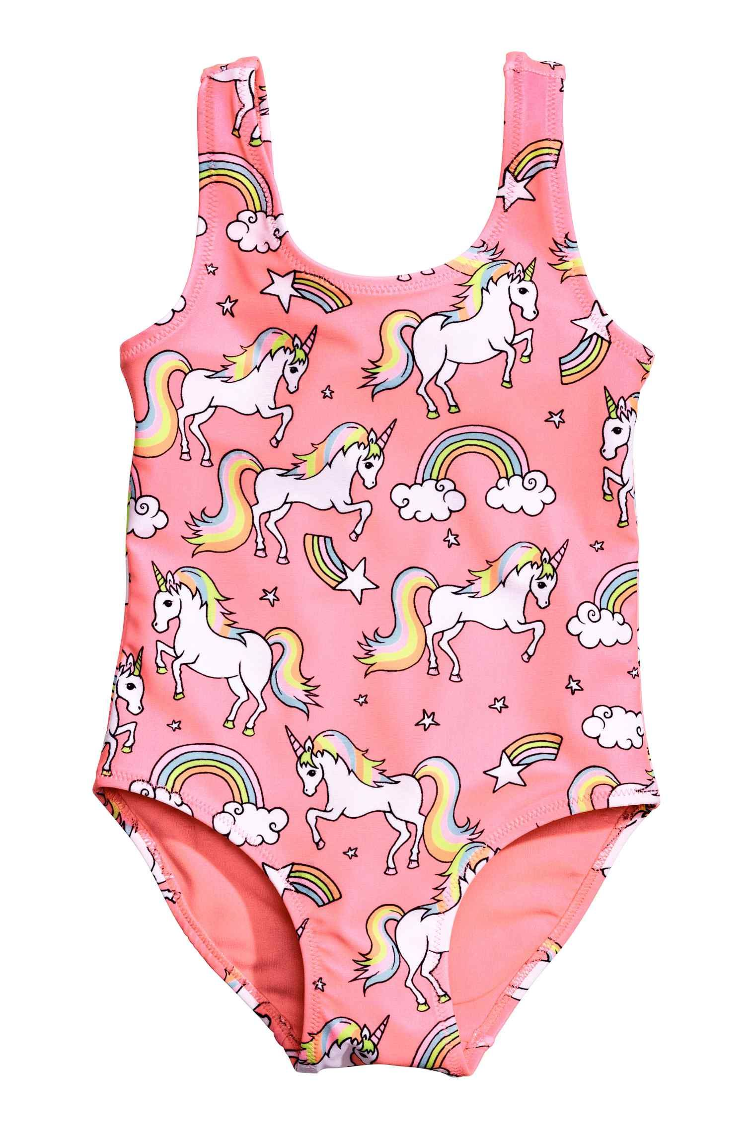Maillot de bain imprimé | Unicornios, Unicornio y El unicornio