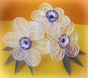 fleurs en quilling sur papier calque (tuto gratuit DIY)