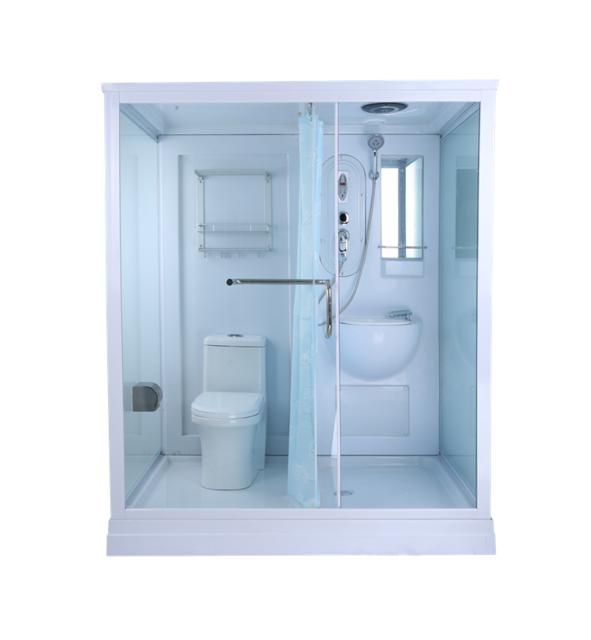 Source Ajl 5801 Hot Sale Prefab Modular Bathroom With Toilet For