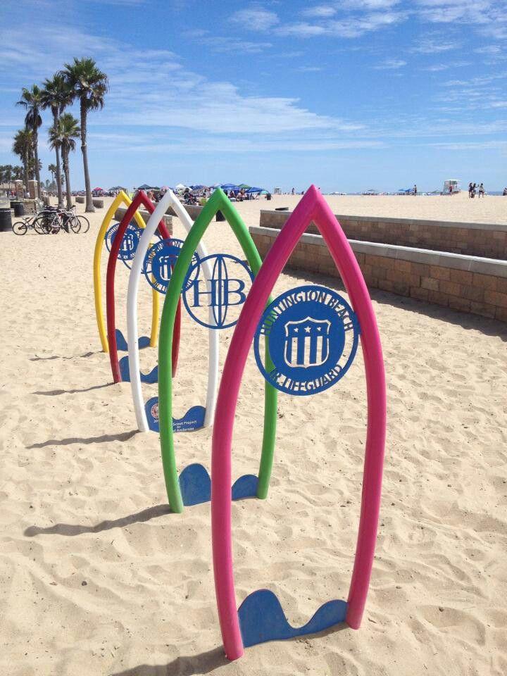 Surfboard Art Huntington Beach Ca