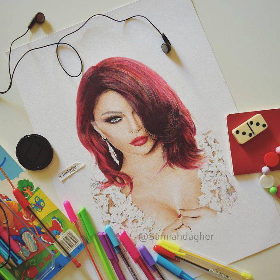 Haifa Wehbe by samiahdagher on DeviantArt