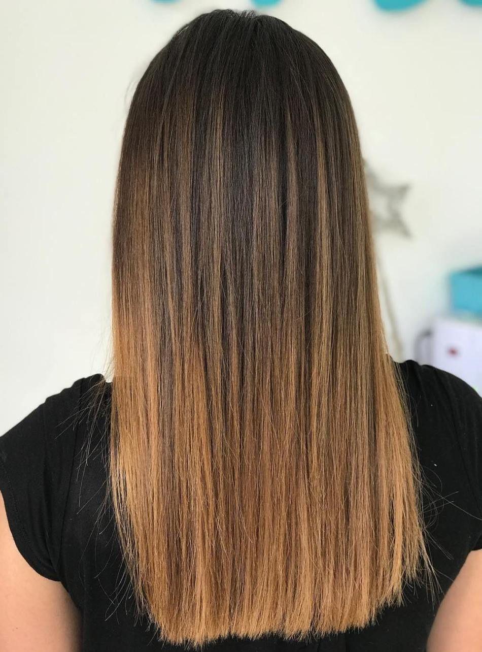 Nice Balayage Straight Hair Balayage Pelo Liso Coloracion De Cabello Balayage