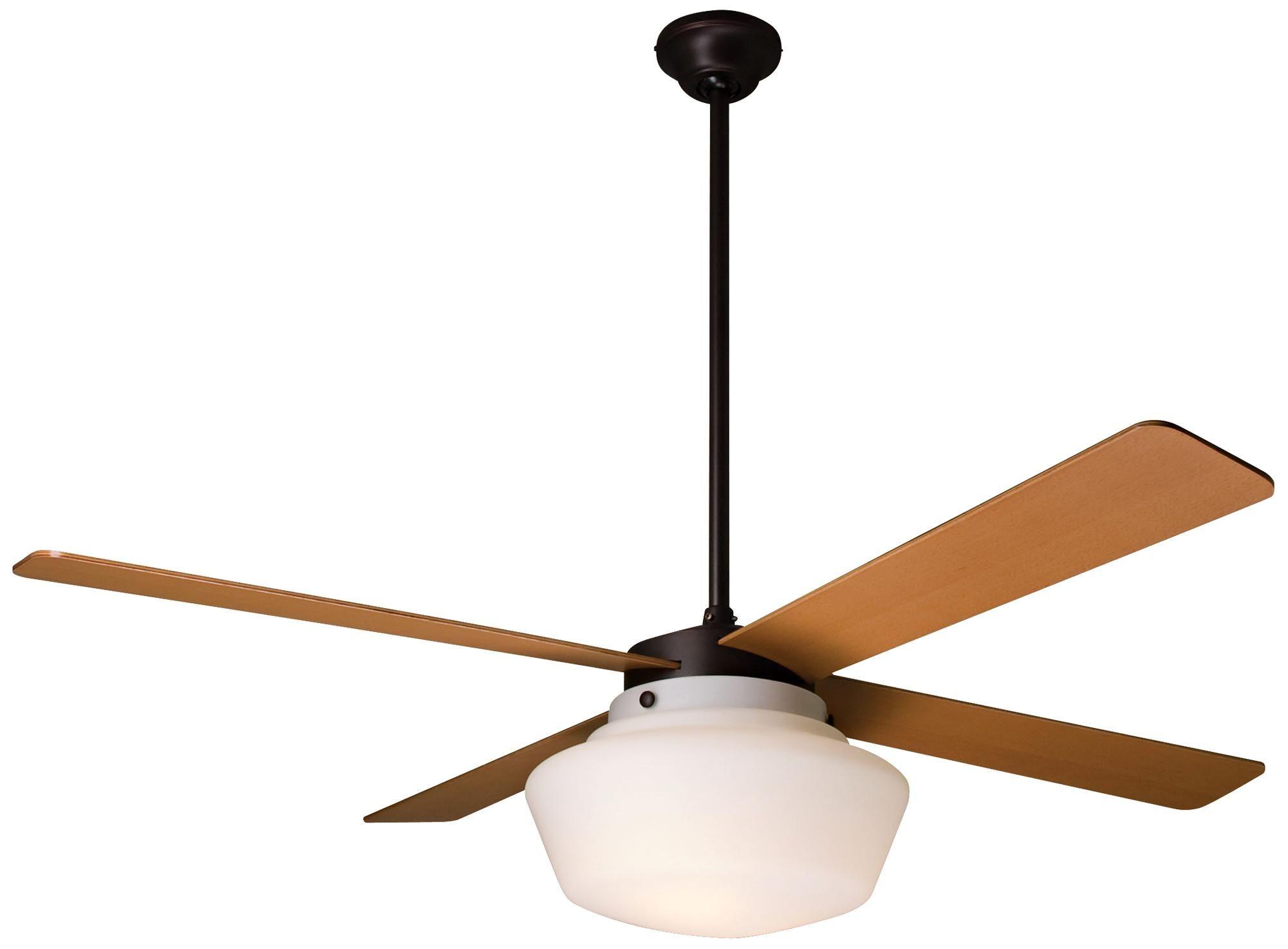 52 period arts schoolhouse ceiling fan briggs house lighting rh pinterest fr