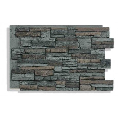 laguna 24 x 36 faux stacked stone graphite in 2019 our next rh pinterest com