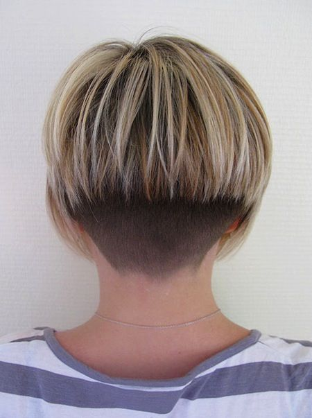 Backview - Bob hair v tapered nape. Shaved. | Bob | Very ...
