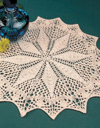 Knit Doilies | Doily patterns, Doilies, Knitting