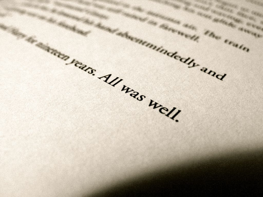 All Was Well All Is Well Grad Quotes Reading Journal