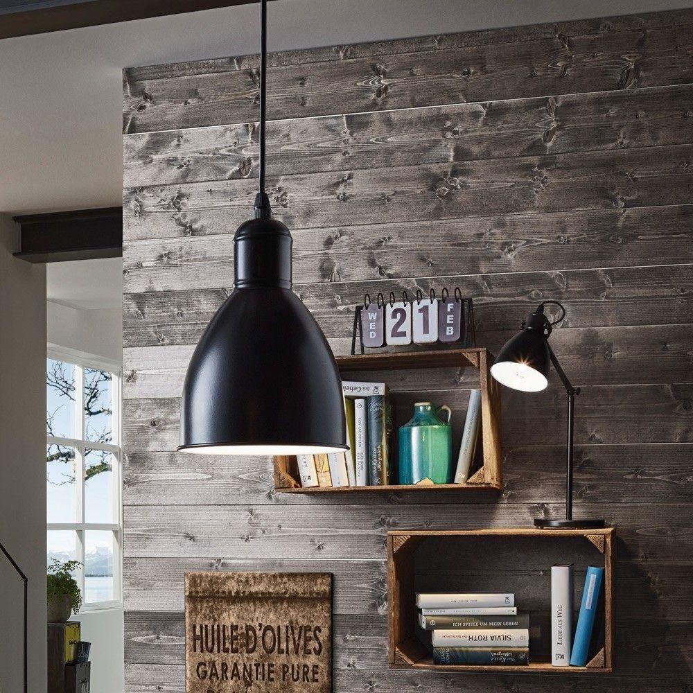 Licht Skapetze skapetze bonny vintage hängeleuchte 1 flg schwarz