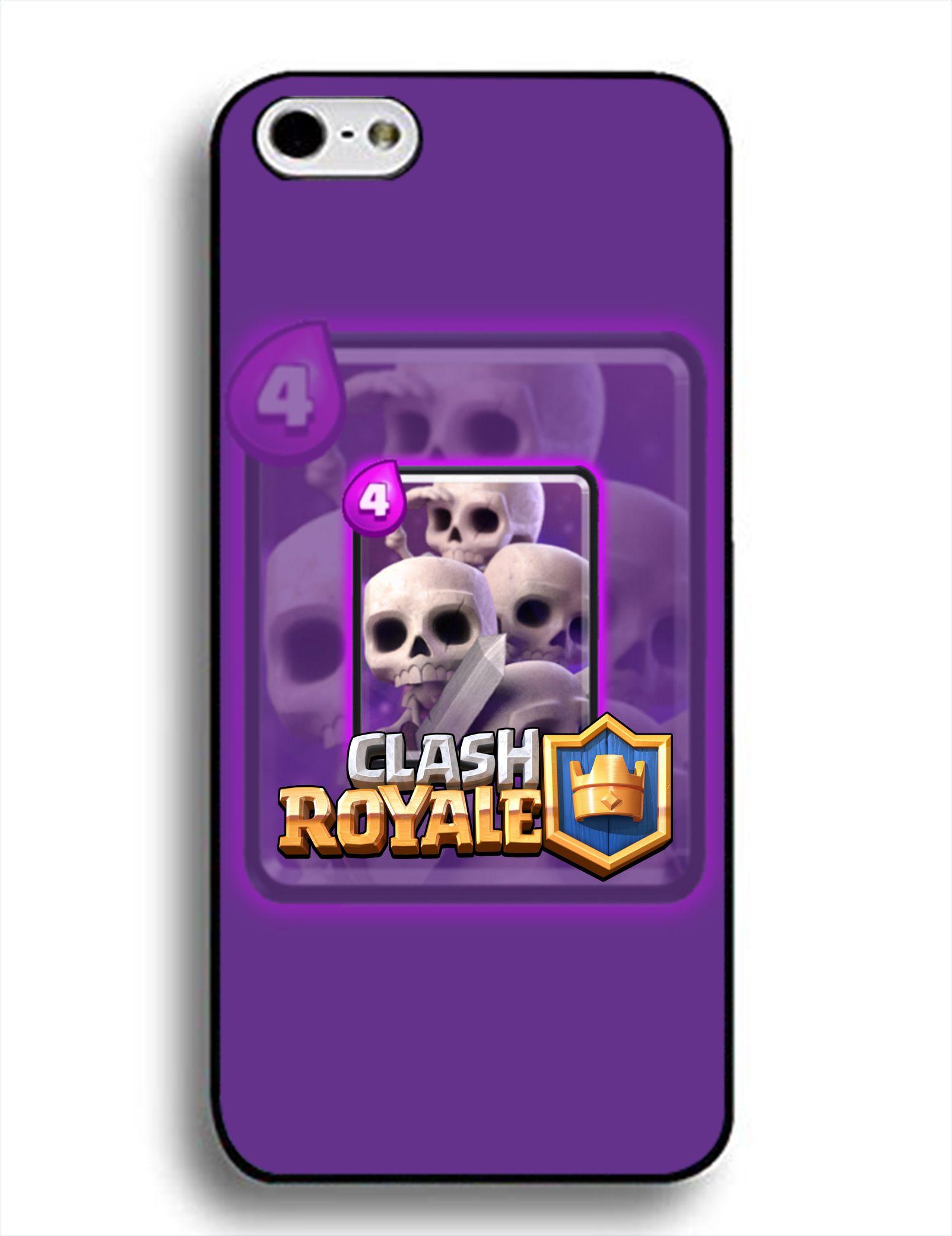Manga Box-Custom Clash Royale Clash Clans iPhone Case for