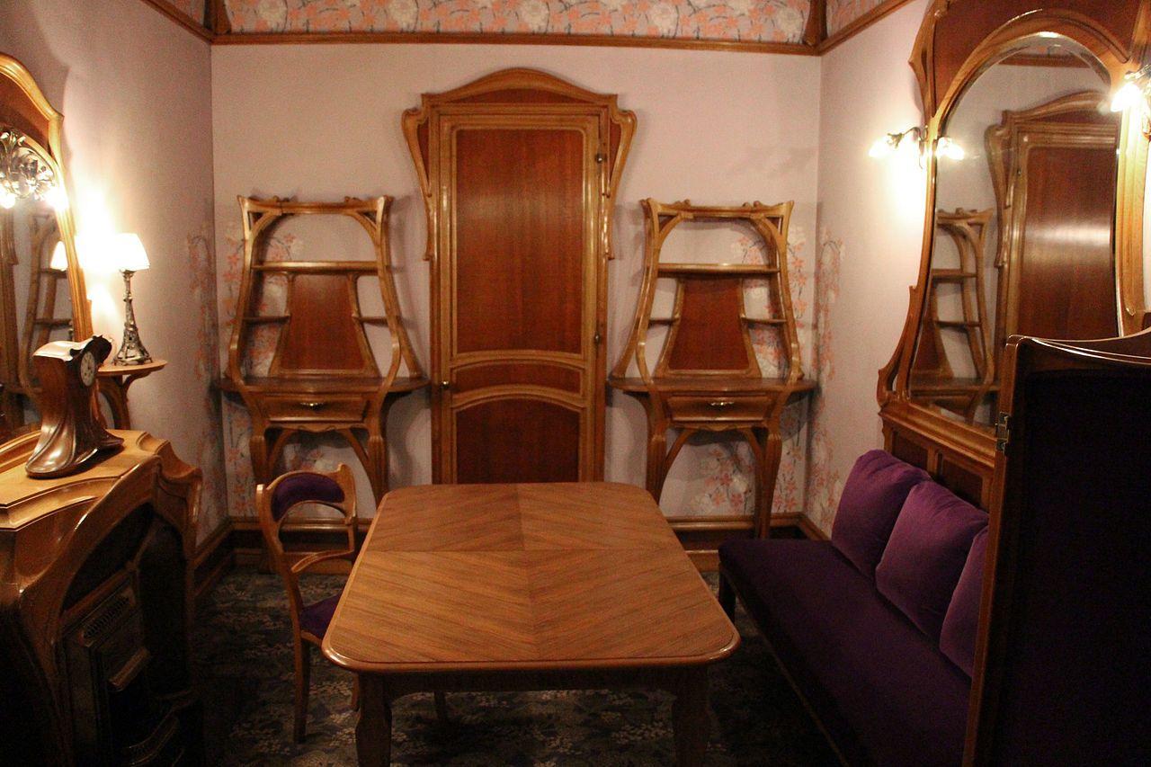 Salon Particulier Cafe De Paris Par Louis Majorelle Art Nouveau De L Ecole De Nancy Conserve Au Musee Carnavalet Paris Art Nouveau Musee Carnavalet Salon