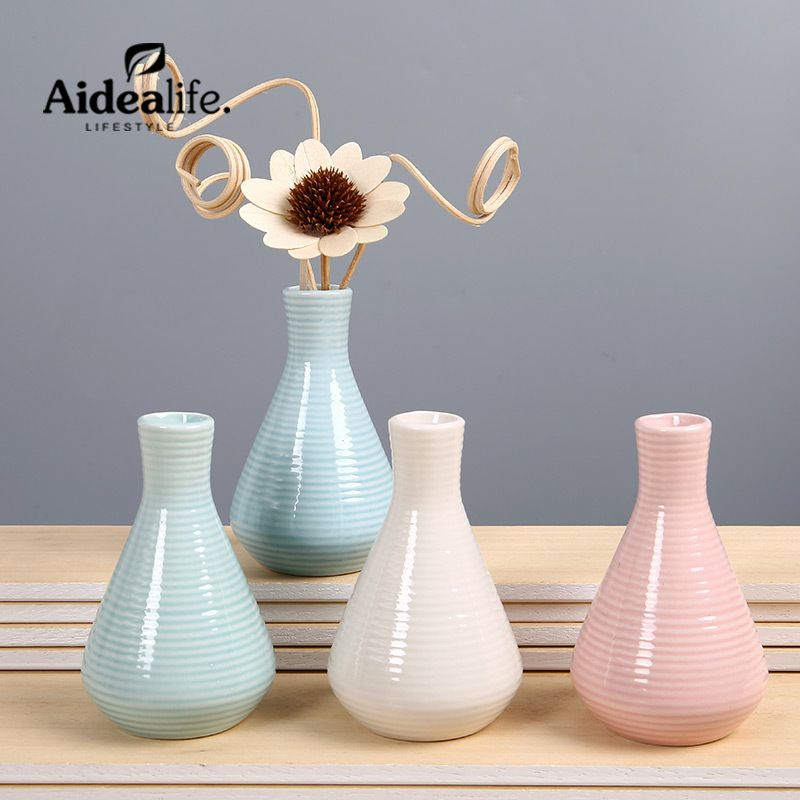 Mini blue and white vase for wedding decoration chinese ceramic vase mini blue and white vase for wedding decoration chinese ceramic vase promotion home decoration accessories pink junglespirit Image collections