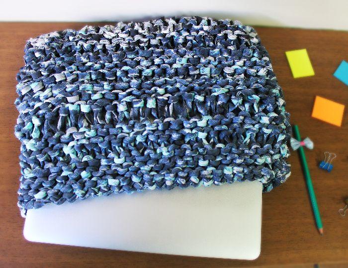 Receita - Capa de Fio de Malha para notebook - EuroRoma