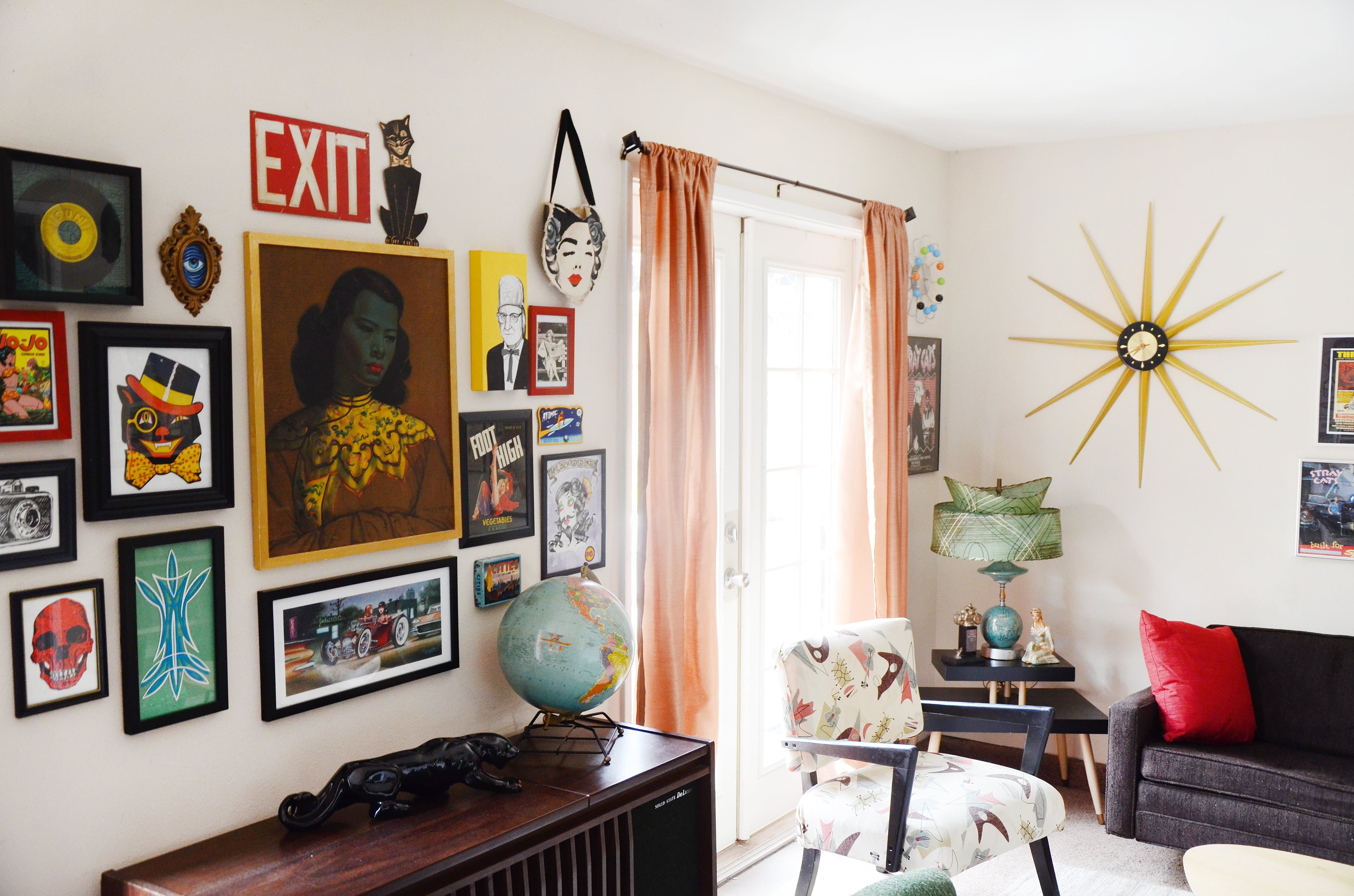 Art frames art gallery ideas for living