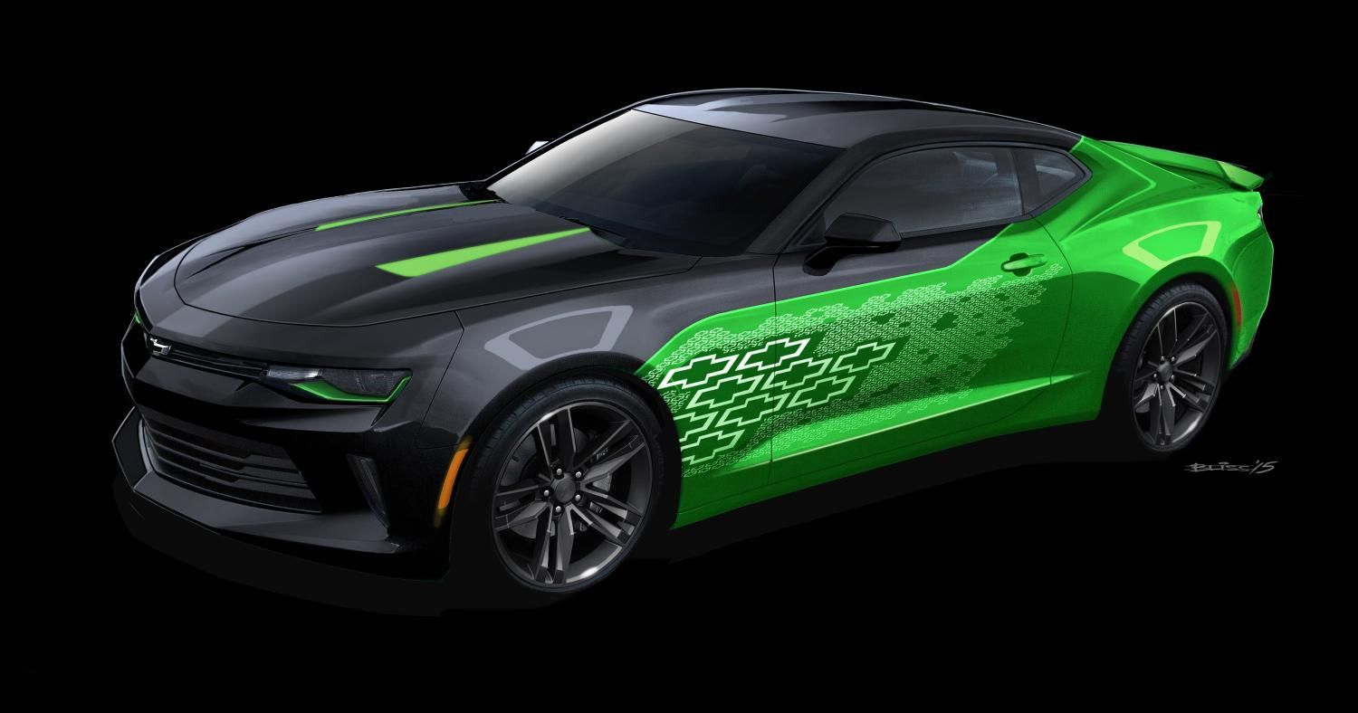2016 chevy camaro gets 4 custom concepts for 2015 sema show rh pinterest es