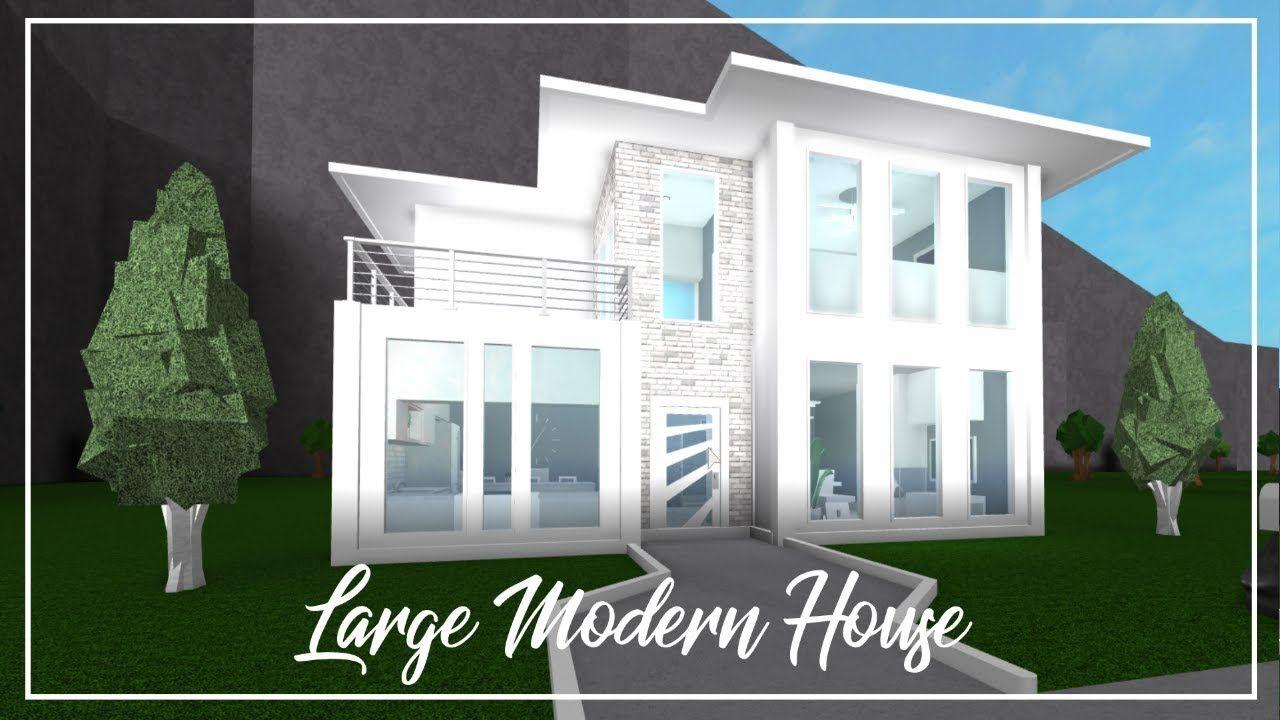 Modern House Design Bloxburg In 2020 Modern House Design Small