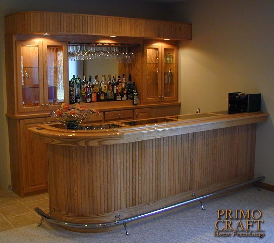 Home Bars And Back Bars | Greaves Custom Wood Home Bar