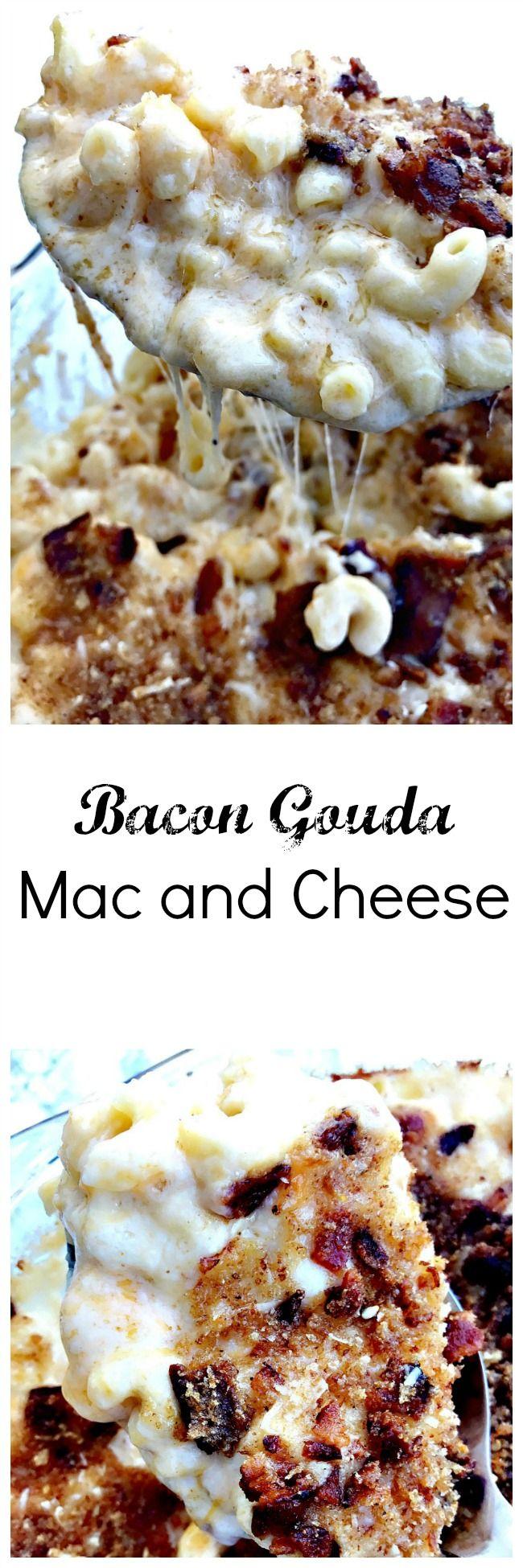 Bacon Gouda Mac and Cheese