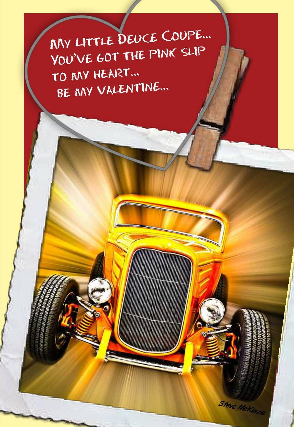 Valentine Card Deuce Coup: Made Personal With Pixingo