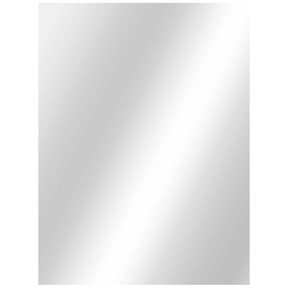 Digital Art Gallery W x in L Polished Edge Bath Mirror