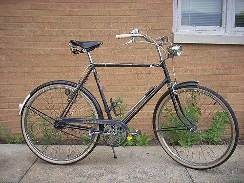 My 1963 Raleigh Sports Old Bicycle Bicycle Vintage Bikes