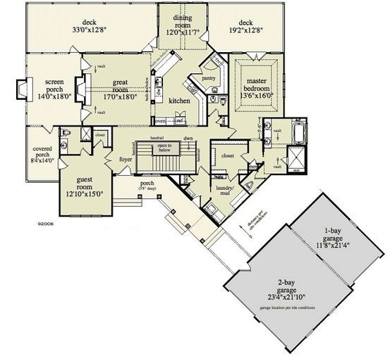 Inspiring Home Designs House Plans Floor Plans Master Closet