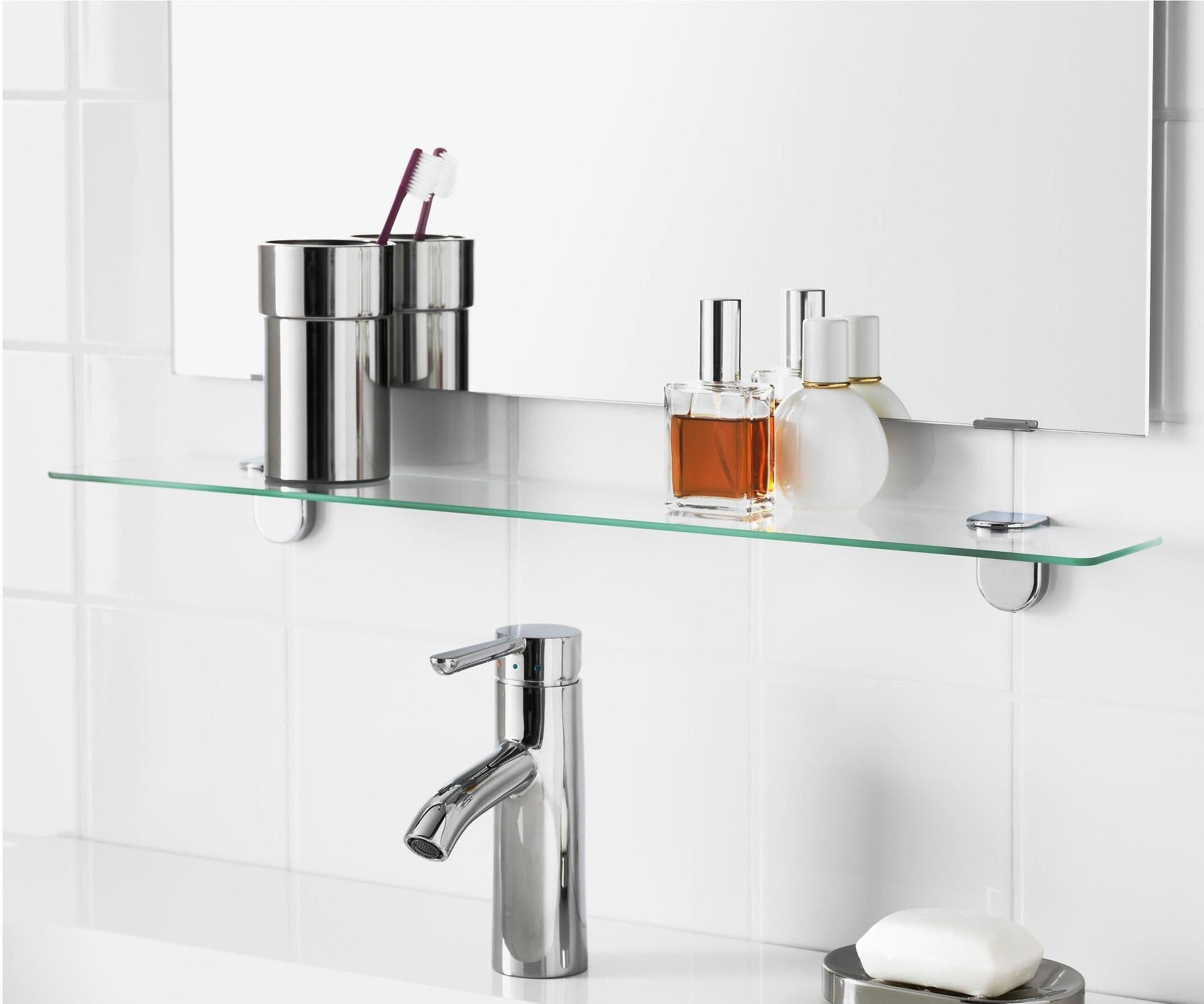 11 essential organizing products for a small bathroom glass rh pinterest com