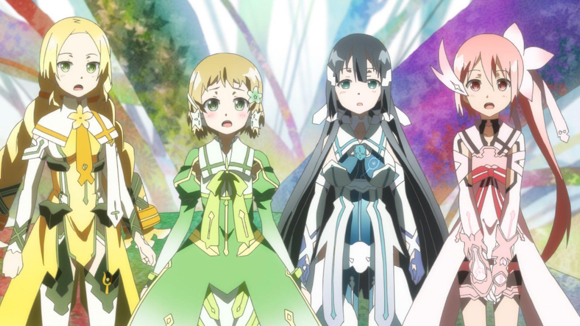 Yuki Yuna wa Yusha de Aru anime Anime, Magical girl