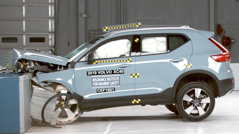 2019 Volvo Xc40 Xc60 Recieve High Iihs Safety Ratings Volvo