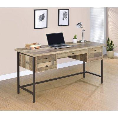 loon peak juri rectangular writing desk in 2019 products desk rh pinterest com