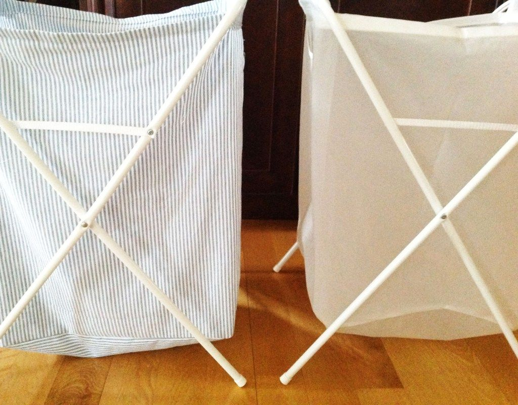Ikea Jall White Laundry Bag With Stand Ikea Laundry Laundry