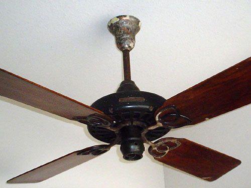 Vintage Ge Electric Fan 1915 25c Ge 52 Antique Ceiling Fan