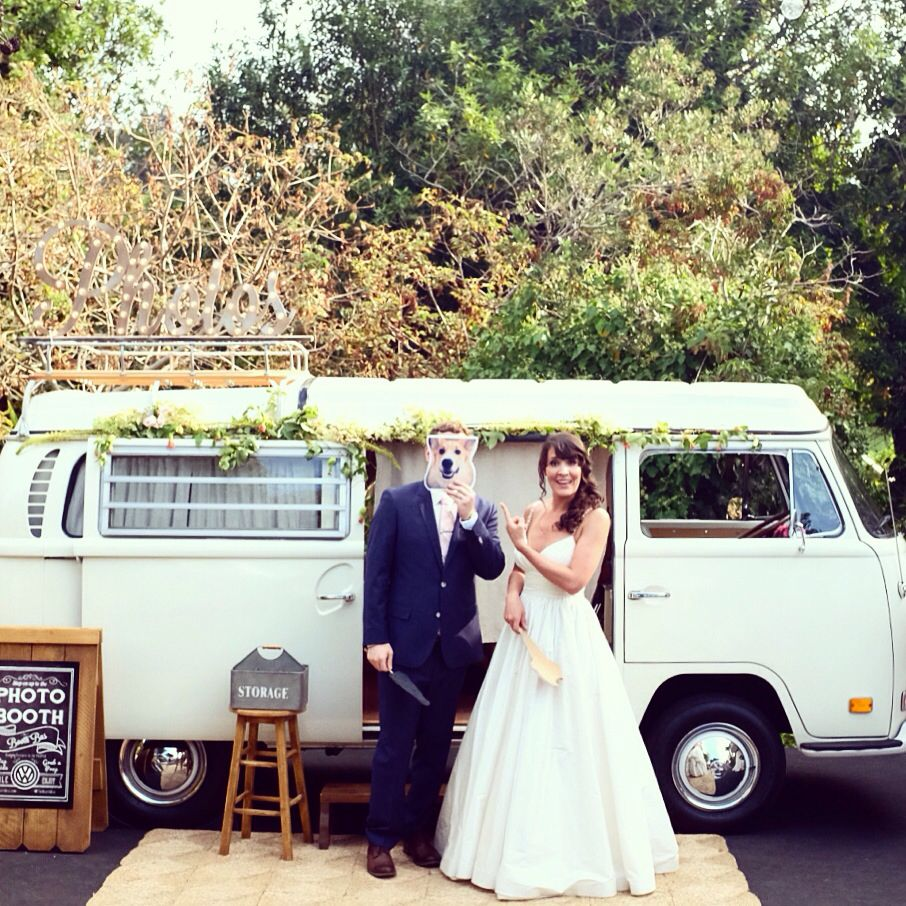 beautiful wedding places in northern california%0A Unique Vintage Volkswagen Bus Photo Booth based in Northern California  serving Carmel  Santa Cruz